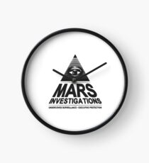Mars investigation Clock