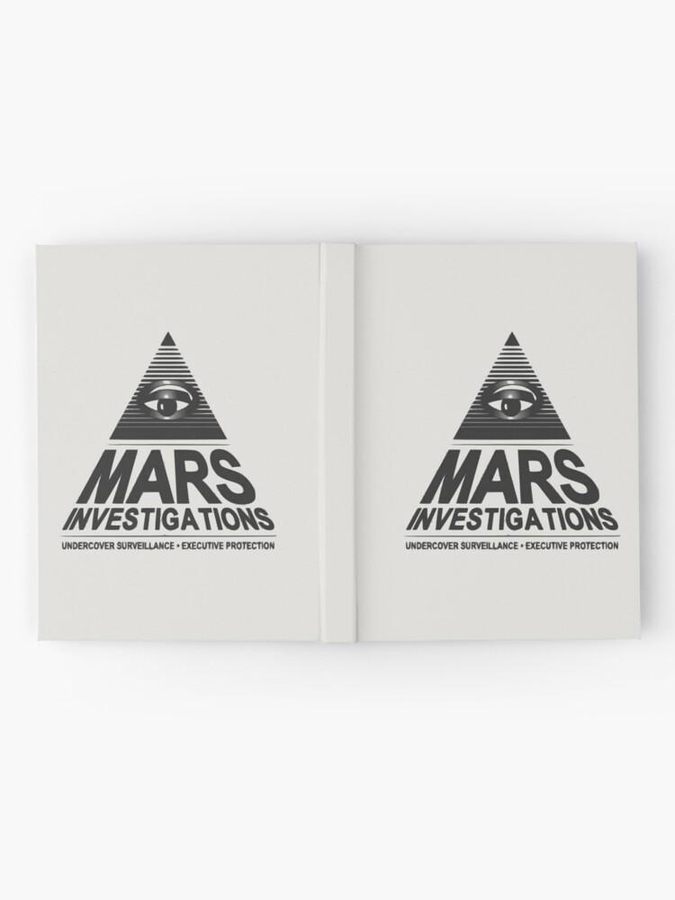 Alternative Ansicht von Mars-Untersuchung Notizbuch
