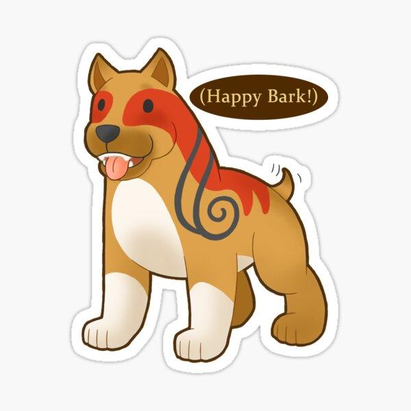 Happy Bark! Sticker