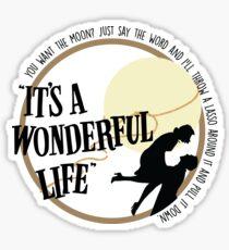 It's a Wonderful Life Movie Sticker