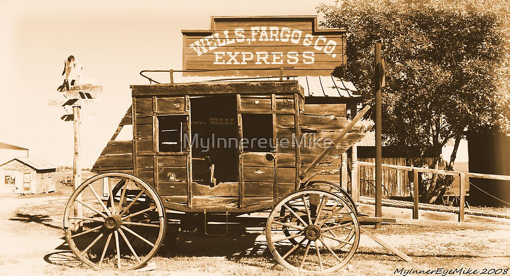 #628  The Stagecoach by MyInnereyeMike