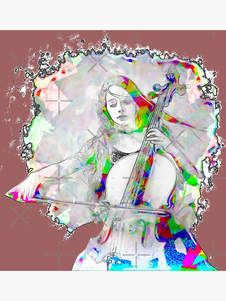 Cello Girl by painterfrank