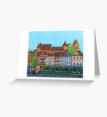 Barfusserplatz Rendez-vous Greeting Card