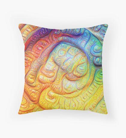 Color Foam #DeepDream V2 Throw Pillow