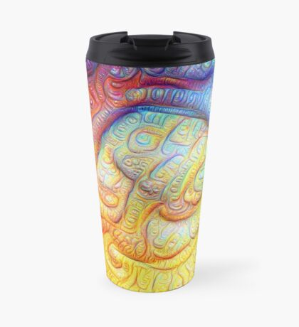 Color Foam #DeepDream V2 Travel Mug