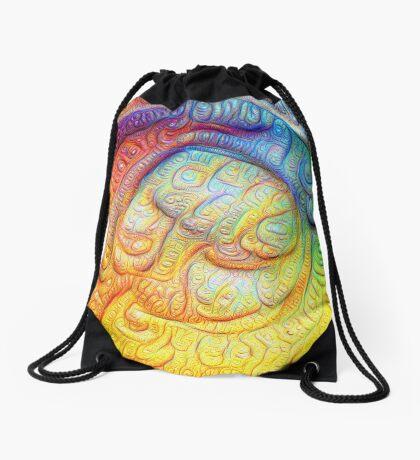 Color Foam #DeepDream V2 Drawstring Bag