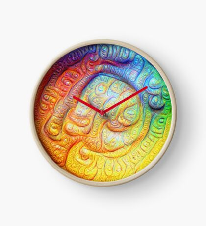 Color Foam #DeepDream V2 Clock