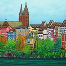 Colours of Basel, Switzerland by LisaLorenz