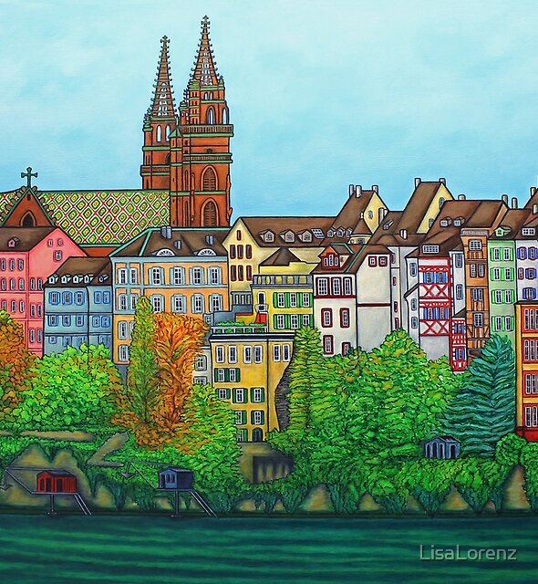 Colours of Basel, Switzerland by LisaLorenz