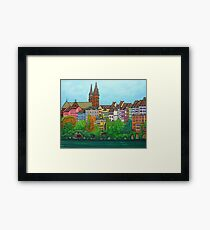 Colours of Basel, Switzerland Framed Print