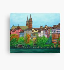 Colours of Basel, Switzerland Canvas Print