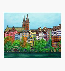 Colours of Basel, Switzerland Photographic Print