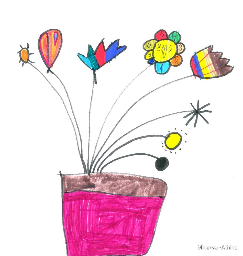 Pot A Fleurs by Minerva -Athina