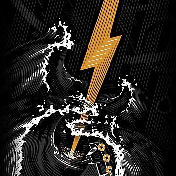 Electric Guitar Storm by c0y0te7