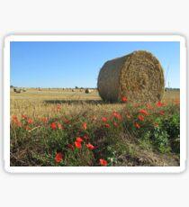 Classic Normandy Landscape View Sticker