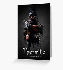 Thermite Elite Greeting Card