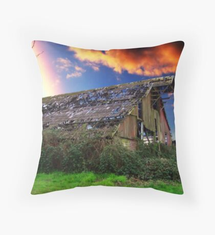 Rainbow Over Ruins - Orton Series Throw Pillow