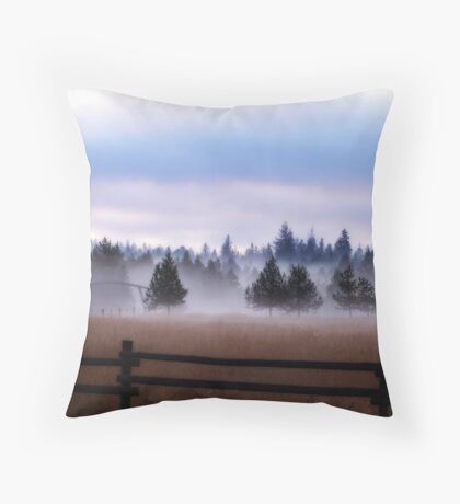 Misty Morning - Orton Series Throw Pillow