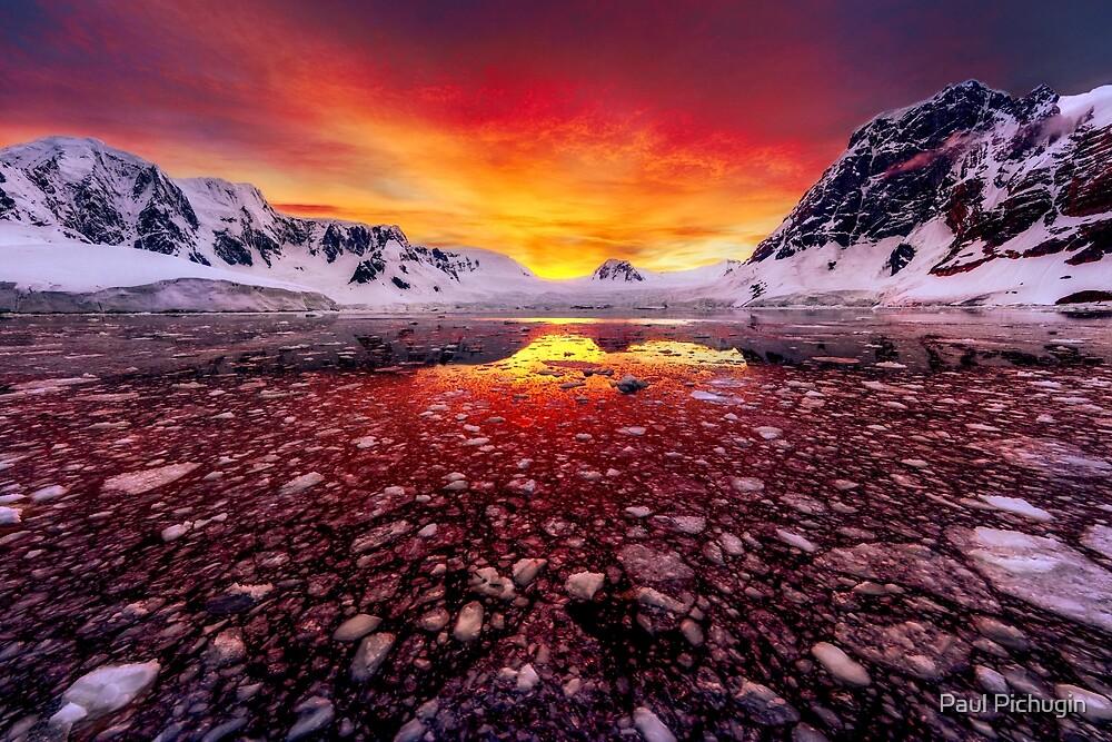 Antarctic Sunrise by Paul Pichugin