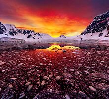 Antarctic Sunrise by Paul Pichugin