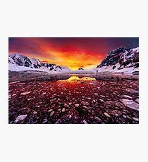 Antarctic Sunrise Photographic Print