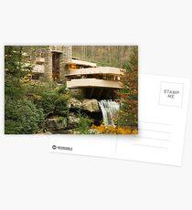 Frank Lloyd Wright Falling water Postcards