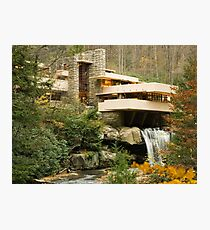Frank Lloyd Wright Falling water Photographic Print