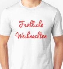 Fröhliche Weihnachten Unisex T-Shirt