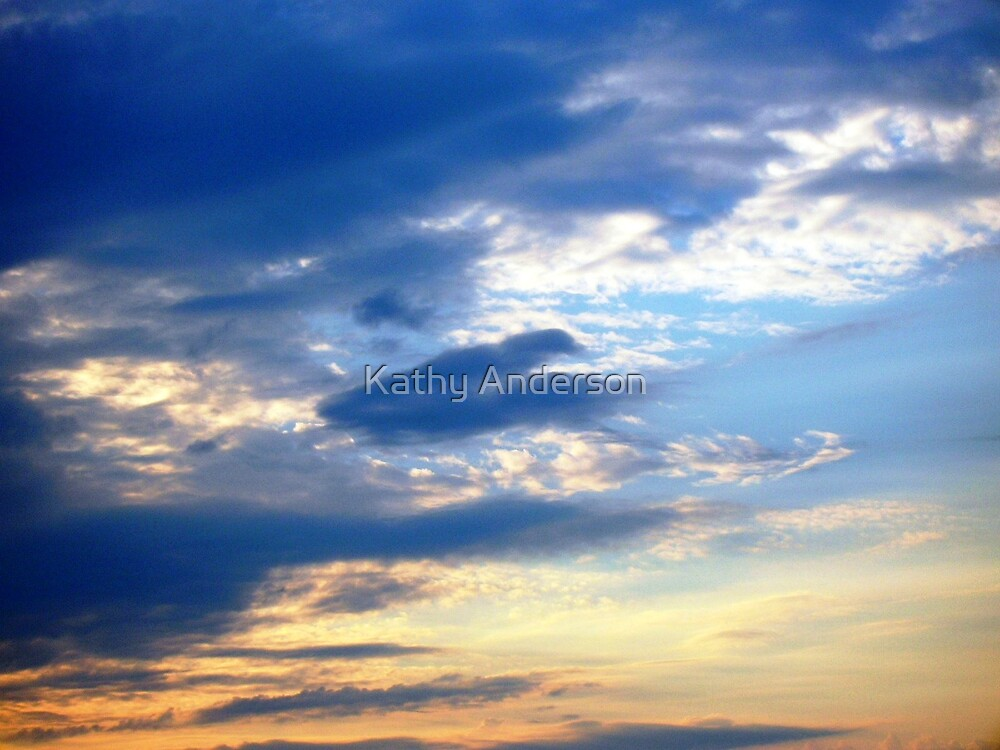 Gold Blessed by Kathy Anderson