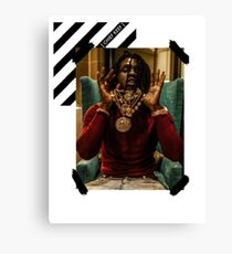 Chief Keef 0FF-WH1T3 Canvas Print