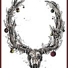 Anti-Christmas Rudolf by kilcoyneart