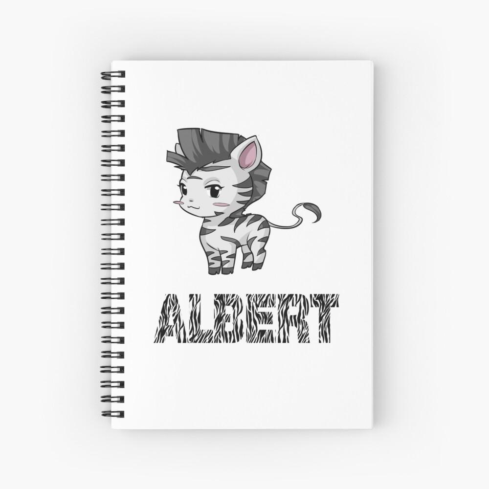 Zebra Albert Cuaderno de espiral