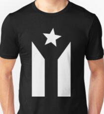 PUERTO RICO BLACK FLAG Slim Fit T-Shirt