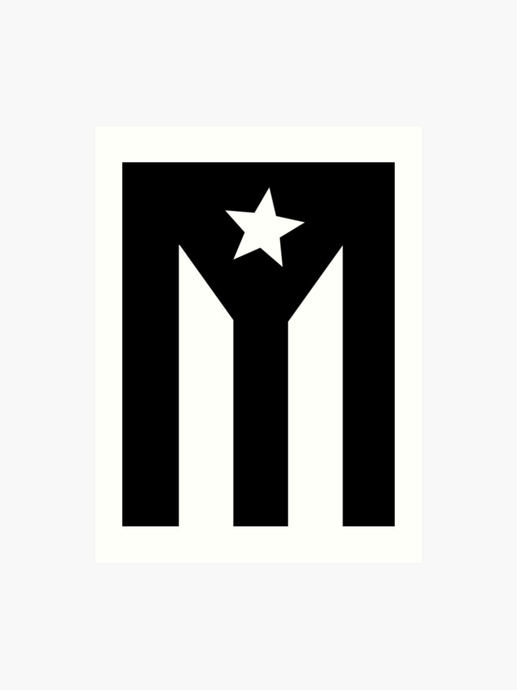 3143f55b7d618 PUERTO RICO BLACK FLAG
