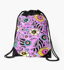 Patterns and shapes Drawstring Bag