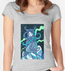 Ancient goddess Keeper of the North. Women's Fitted Scoop T-Shirt