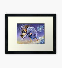 Is this entropy mum? Framed Print