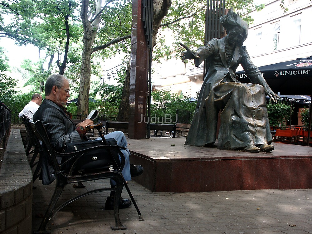 Liszt square bench by JudyBJ