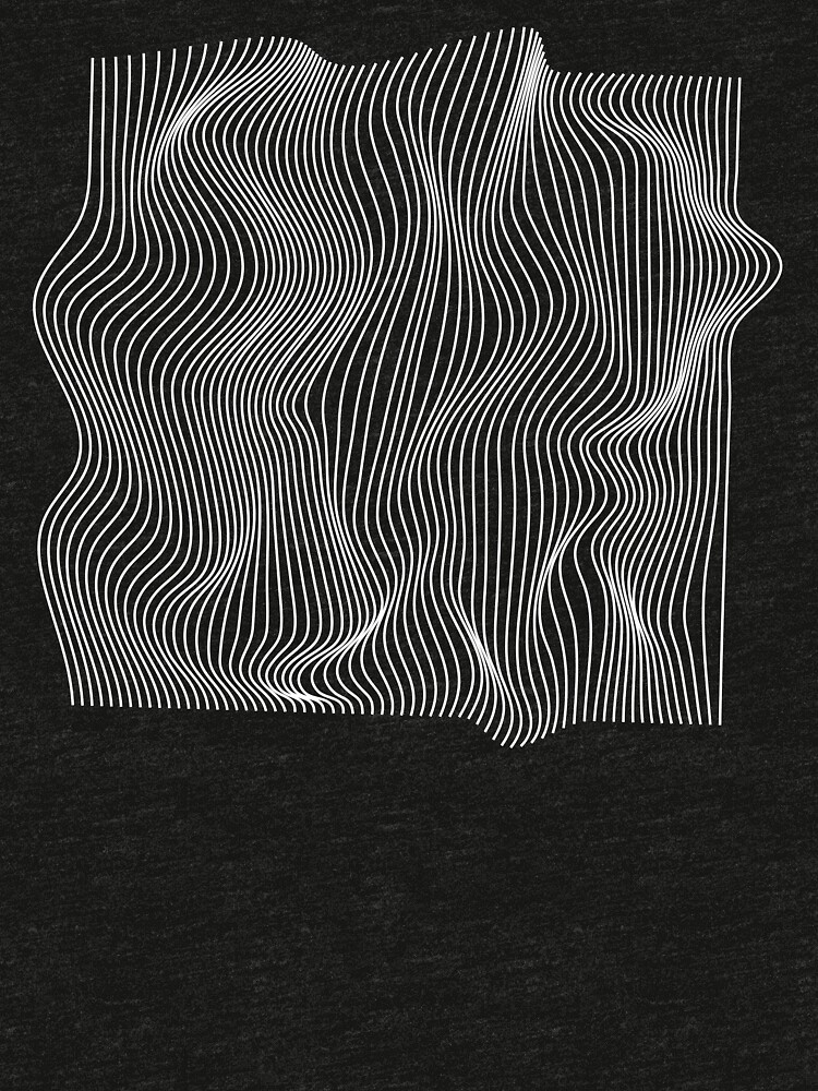 Optical Illusion Minimal Lines by adelemawhinney