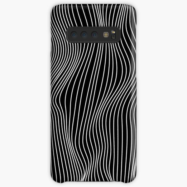 Optical Illusion Minimal Lines Samsung Galaxy Snap Case