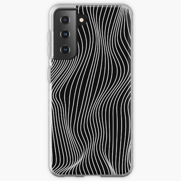 Optical Illusion Minimal Lines Samsung Galaxy Soft Case