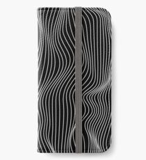 Optical Illusion Minimal Lines iPhone Wallet/Case/Skin