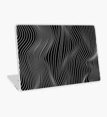 Optical Illusion Minimal Lines Laptop Skin