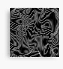 Optical Illusion Minimal Lines Canvas Print