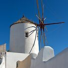 1753 Old mill - Santorini by Hans Kawitzki