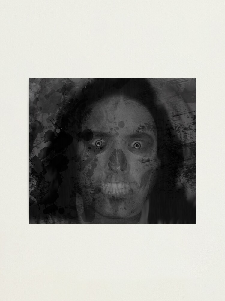 Alternate view of Il Fantome - REMIXED Photographic Print