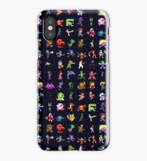 8-Bit Heroes iPhone Case/Skin