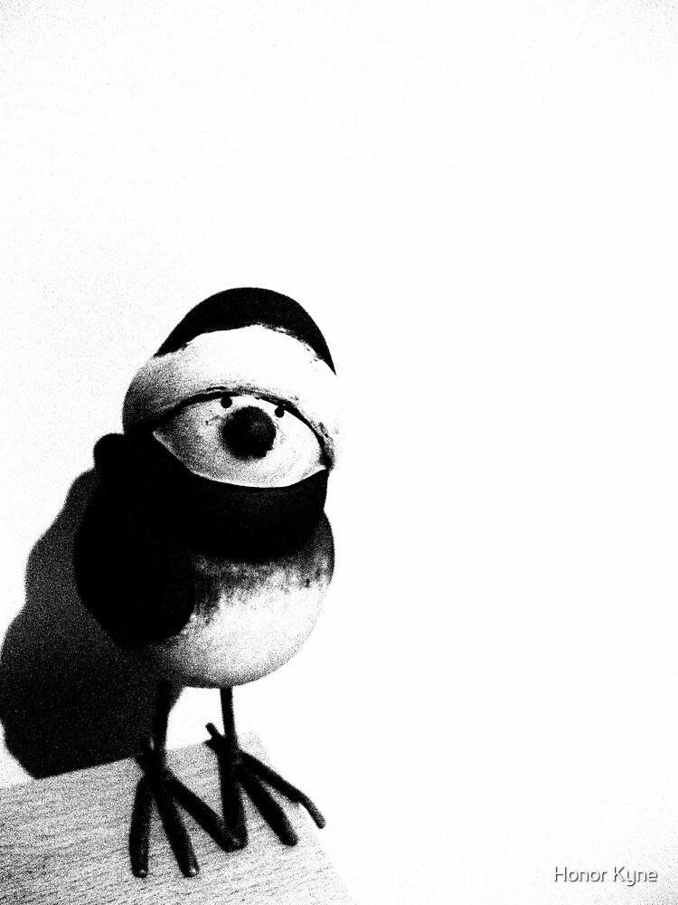 Robin in Woolies :) by Honor Kyne