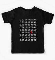 Binary Nerd Joke Kids Tee
