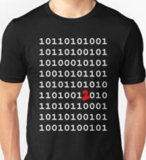 Binary Nerd Joke Unisex T-Shirt